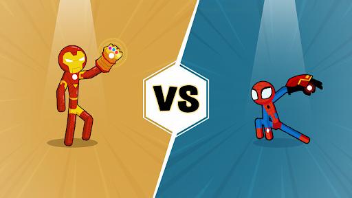 Code Triche Spider Stickman Fighting - Supreme Warriors APK MOD (Astuce) 5