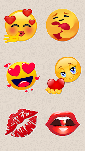 Animated Love Stickers - WAStickerApps Screenshot