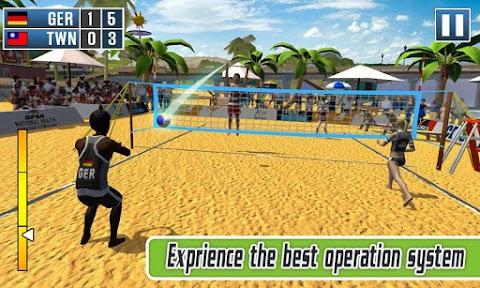 Volleyball Exercise - Beach Volleyball Game 2019のおすすめ画像3