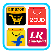 Online shopping App For Flipkart Amazon myntra etc