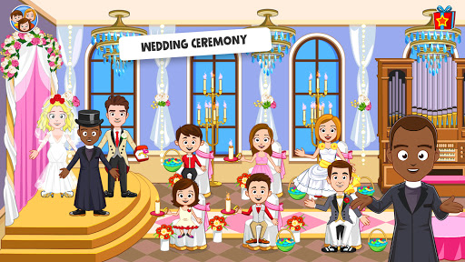 My Town: Wedding Day - The Wedding Game for Girls android2mod screenshots 5