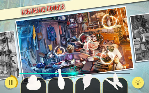 Haunted Hotel Hidden Object Escape Game  screenshots 4