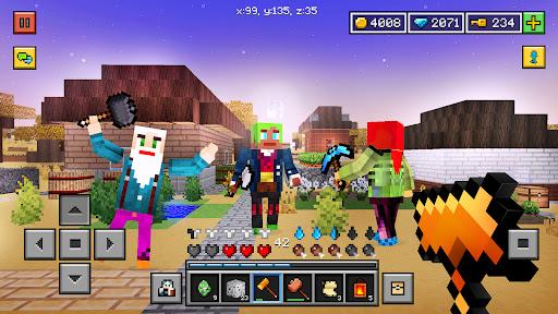 Block World 3D: (Exploration, Crafting, Building)  screenshots 2