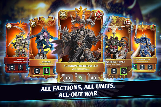 Warhammer Combat Cards - 40K Edition 32.5 screenshots 1
