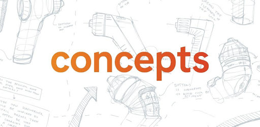 Concepts: Sketch, Note, Draw screen 0