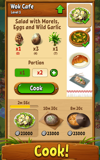 Forest Bounty u2014 restaurants and forest farm 2.5.1 screenshots 7