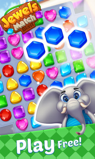 Jewels Match Blast - Match 3 Puzzle Game android2mod screenshots 3