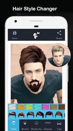 Men Hair Style - Photo Editor - Men Hair Editor  Screenshots 1