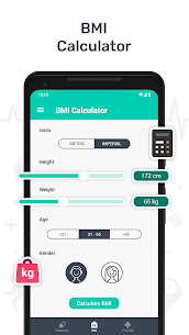 Health – BMI Check, First Aid Guide, Pill Reminder 1