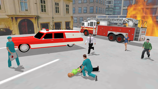 Ambulance Simulator - Car Driving Doctor screenshots 18