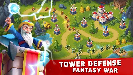 Toy Defense Fantasy — Tower Defense Game Mod Apk