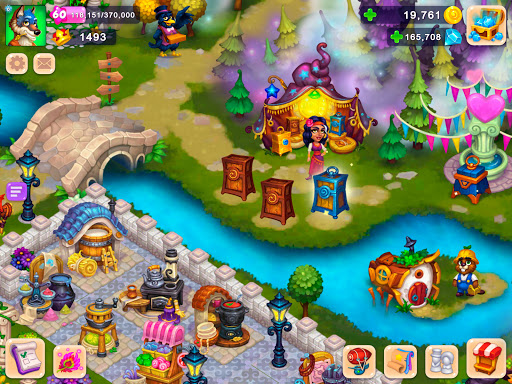 Royal Farm: Village game with quests & fairy tales  screenshots 1