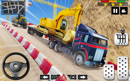 Cargo Delivery Truck Parking Simulator Games 2020 android2mod screenshots 6