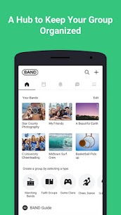 BAND – App for all groups 1