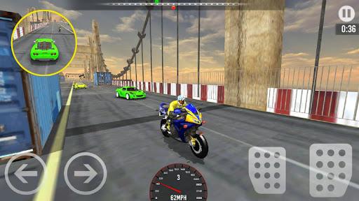 Car vs Bike Racing screenshots 4