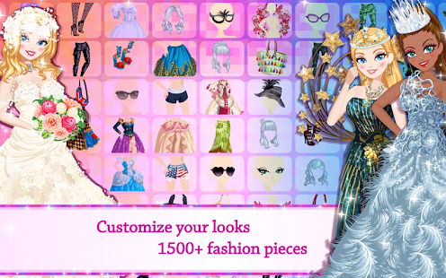 Star Girl - 🛍️Fashion 💋Makeup & 👗Dress Up Screenshot