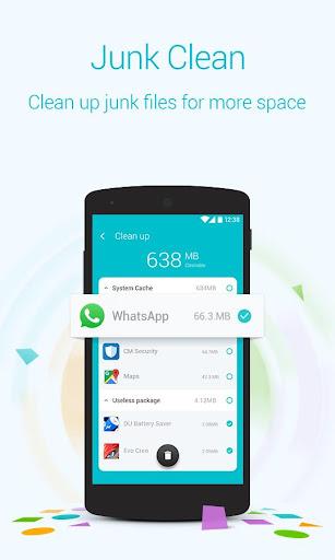 Booster & Cleaner - Keeps phone fast, Power saving screenshots 2