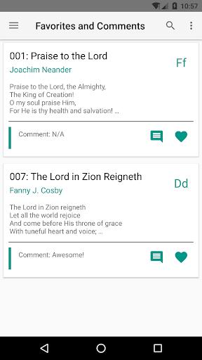 SDA Hymnal  screenshots 3