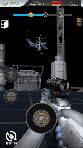 Space Warrior: Target Shoot 1.0.3 screenshots 1