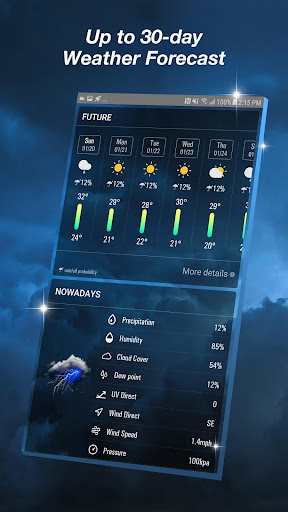 Live Weather Forecast App 16.6.0.6327_50169 Screenshots 4