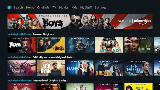 Prime Video - Android TV Screenshot