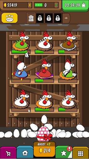 Rooster Booster - Idle Chicken Clicker 1.0 screenshots 2