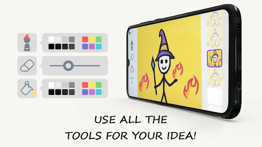 Stickman: draw animation, creator & maker, drawing apktram screenshots 11