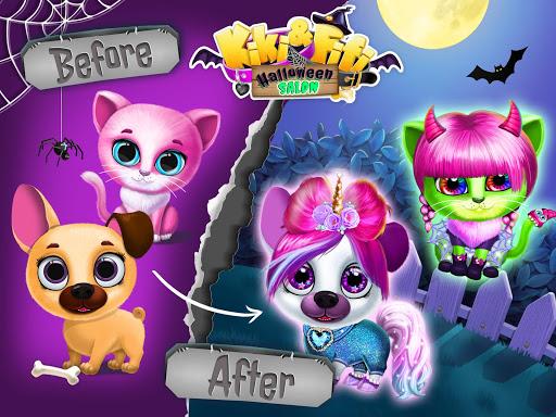 Kiki & Fifi Halloween Salon - Scary Pet Makeover  Screenshots 12