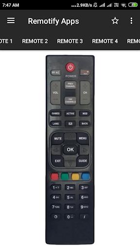 Dish TV Remote Control apktram screenshots 3