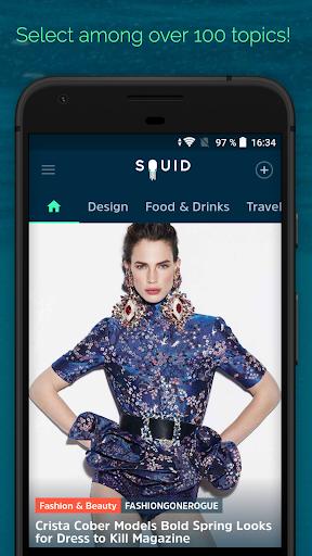 SQUID - News & Magazines 2.4.0 Screenshots 3