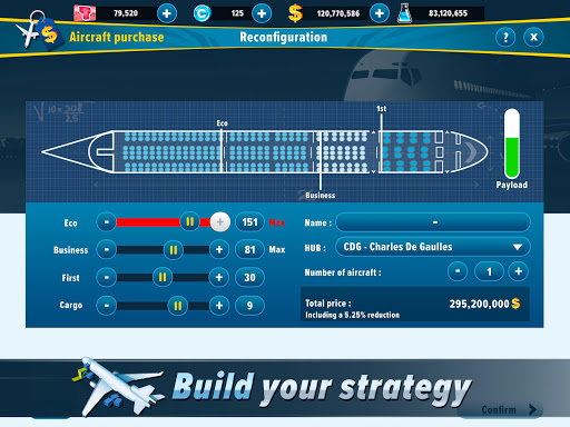 Airlines Manager - Tycoon 2020 3.03.3303 screenshots 4