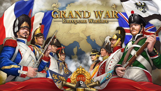 Grand War Mod Apk: Napoleon, Warpath & Strategy (Unlimited Money) 1