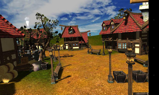 Cartoon Village for Google Cardboard 2.0 Screenshots 1