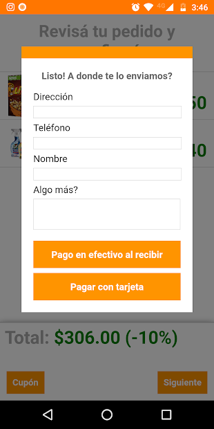 Captura 4 de Distribuidora Monarca para android