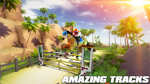 Horse Riding Simulator 3D : Jockey Mobile Game apktram screenshots 8