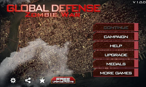 Code Triche Global Defense: Zombie War APK MOD (Astuce) screenshots 1