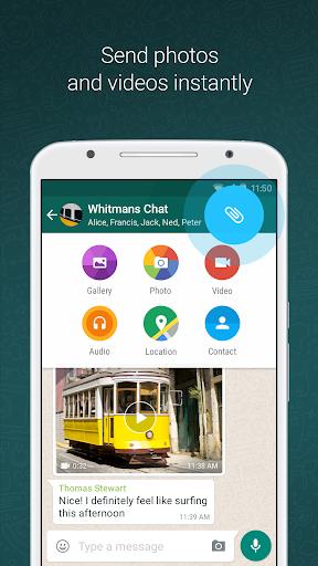 WhatsApp Messenger screen 1