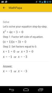 MathPapa Apk 4