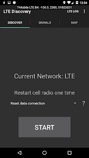 LTE Discovery (5G NR) Screenshot