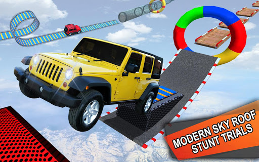 Impossible Jeep Stunt Driving: Impossible Tracks  screenshots 9