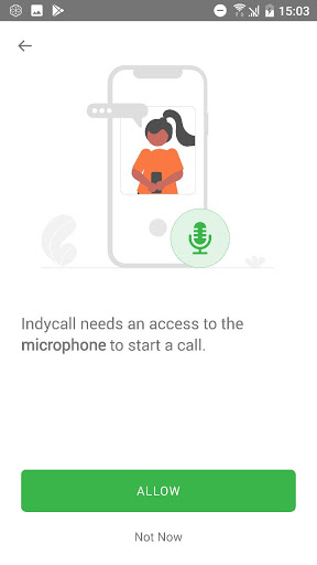 IndyCall - Free calls to India apktram screenshots 3