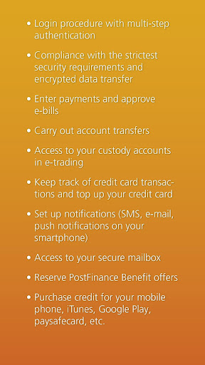 PostFinance Mobile 4.10.2 Screenshots 7