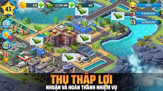 City Island 5 – Mô phỏng xây dựng thành phố tư bản Ver. 3.12.0 MOD APK | Unlimited Money | Unlimited Gold | Unlimited Keys | Unlimited Chips – City Island 5 – Tycoon Building Simulation Offline 4