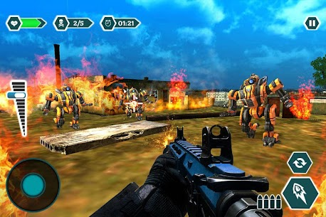 Modern sniper gun hitman combat – Shooting game Hack for Android and iOS 4