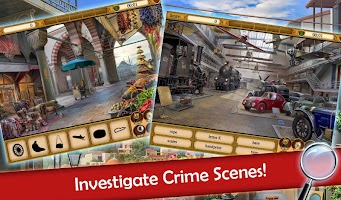 Hidden Objects: Mystery Society Crime Solving