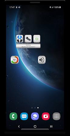 Bluetooth Music  Widget Battery TWS Pods FREEのおすすめ画像1