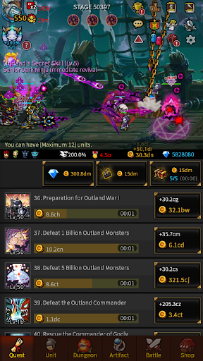 Endless Frontier - Online Idle RPG Game  screenshots 15