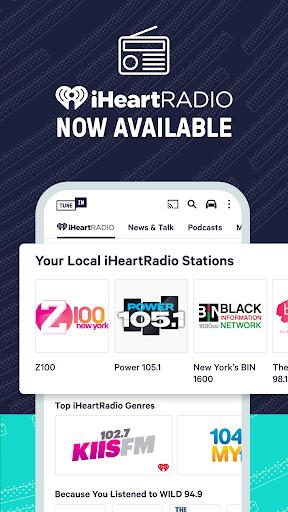 TuneIn Radio: News, Sports & AM FM Music Stations screenshots 4