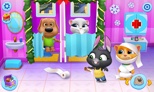 My Talking Tom Friends 1.5.1.4 screenshots 2