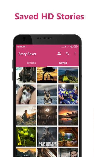 Story Saver for Instagram - Save HD Images, Videos  screenshots 1